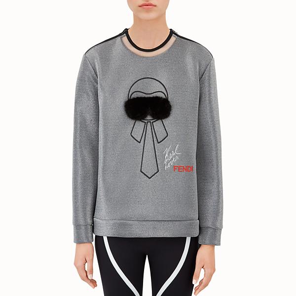 FENDI SWEAT-SHIRT - Sweat-shirt en tissu technique - view 1 small thumbnail
