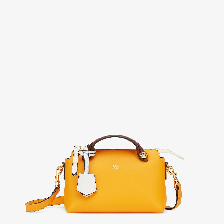 FENDI BY THE WAY MINI - Kleine Boston Bag aus Leder Mehrfarbig - view 1 detail