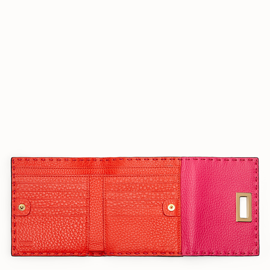 FENDI CONTINENTAL MEDIUM - Fendi Roma Amor leather wallet - view 4 detail