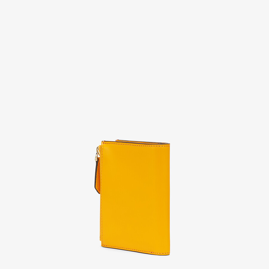 FENDI 財布 ミディアム - オレンジレザー 財布 - view 2 detail