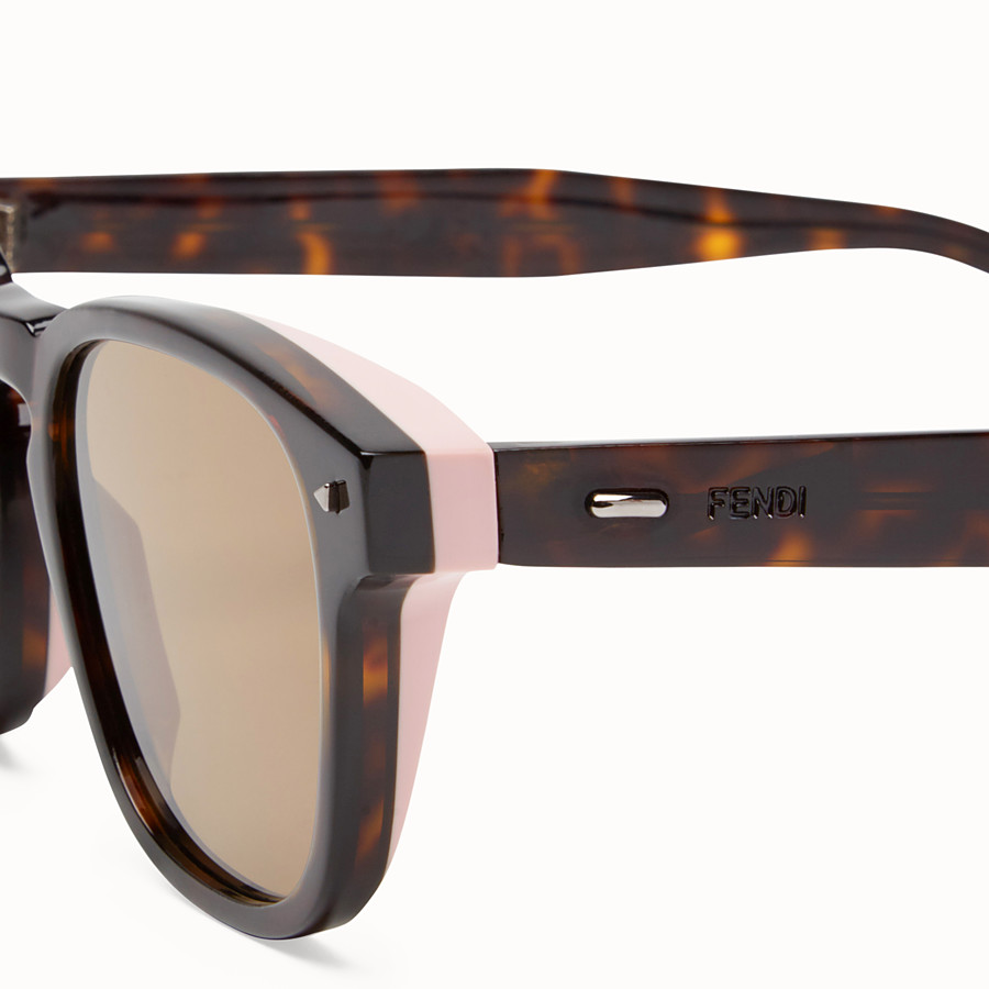 FENDI I SEE YOU - Lunettes de soleil havane - view 3 detail