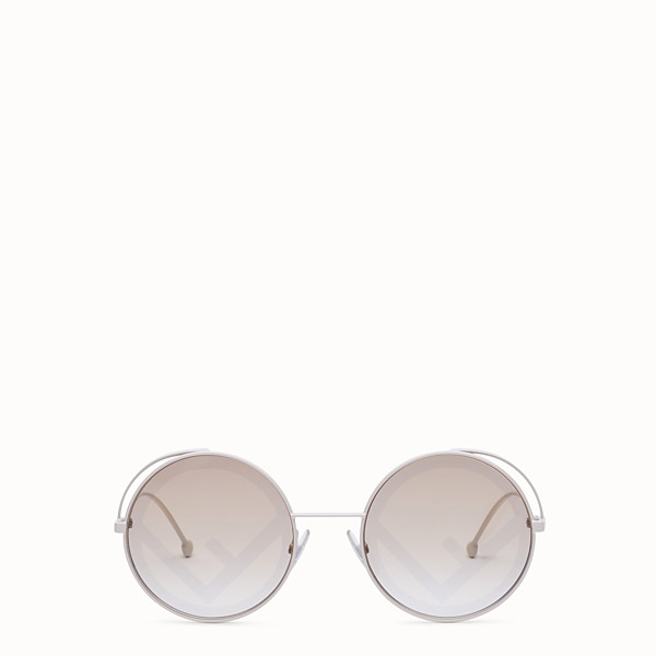 FENDI FENDIRAMA - White sunglasses - view 1 small thumbnail