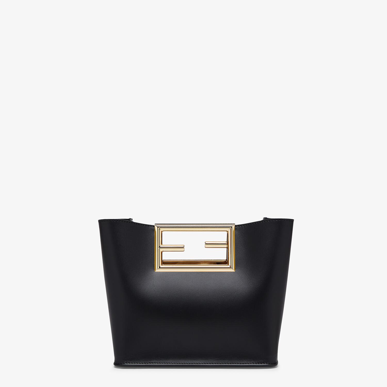 FENDI FENDI WAY SMALL - Black leather bag - view 3 detail