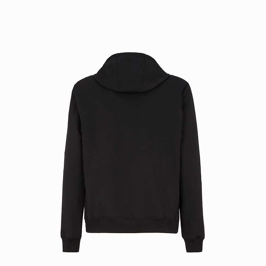 FENDI SWEATSHIRT - Pullover aus Jersey in Schwarz - view 2 detail