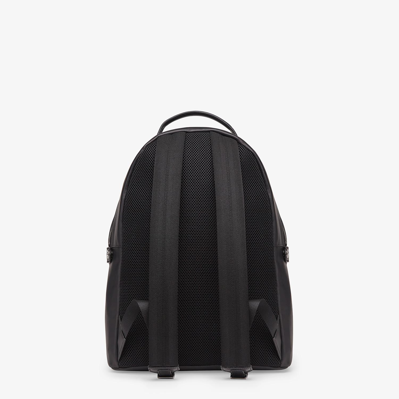 FENDI PEEKABOO BACKPACK - Black nappa leather backpack - view 4 detail