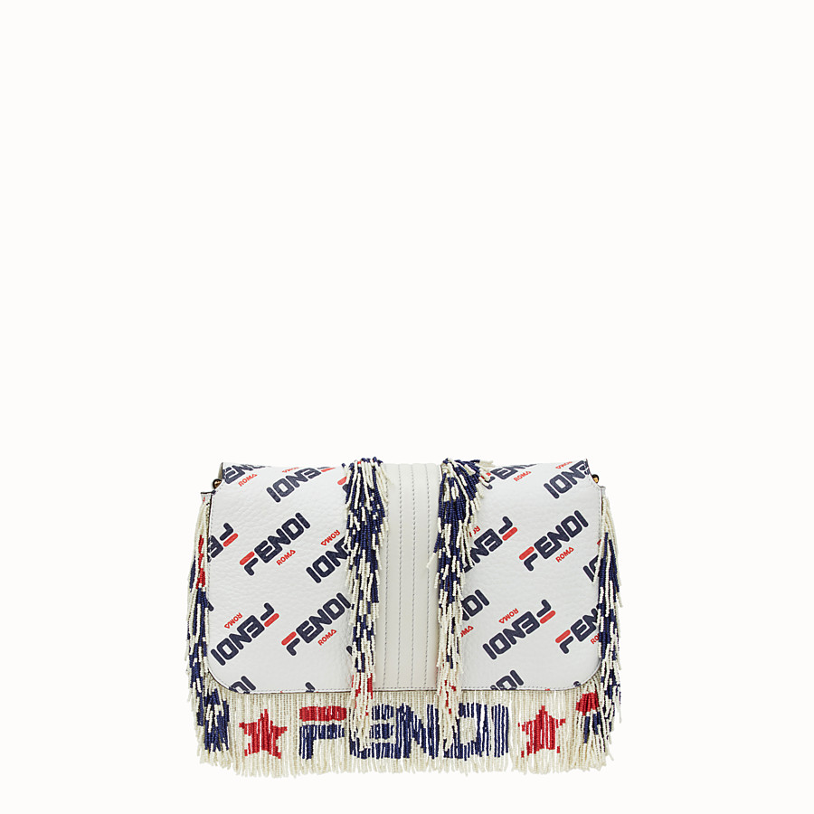 FENDI BAGUETTE - Multicolour leather bag - view 3 detail