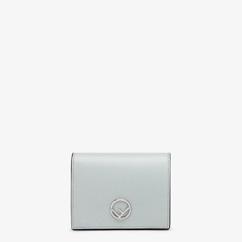 FENDI 二つ折り財布 - グレーレザー コンパクト財布 - view 1 detail