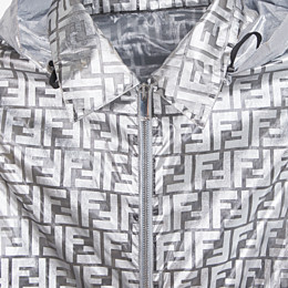 FENDI WINDBREAKER - Fendi Prints On nylon jacket - view 3 thumbnail