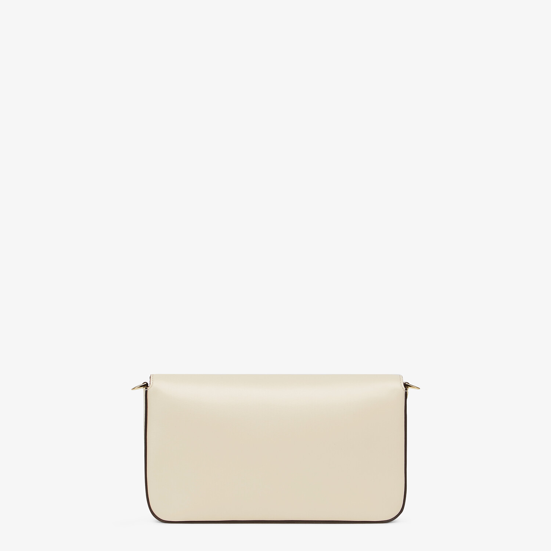 FENDI WALLET ON CHAIN WITH POUCHES - White leather mini-bag - view 4 detail