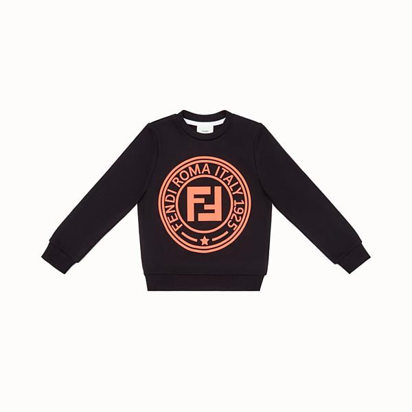 FENDI SWEATSHIRT - Sweatshirt aus Baumwolle in Schwarz - view 1 small thumbnail
