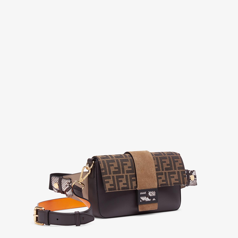FENDI BAGUETTE - Brown calfskin bag - view 2 detail