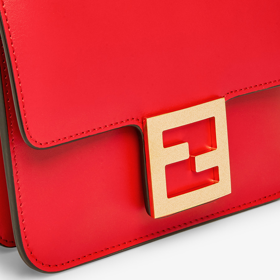 FENDI FENDI FAB - Red leather bag - view 5 detail