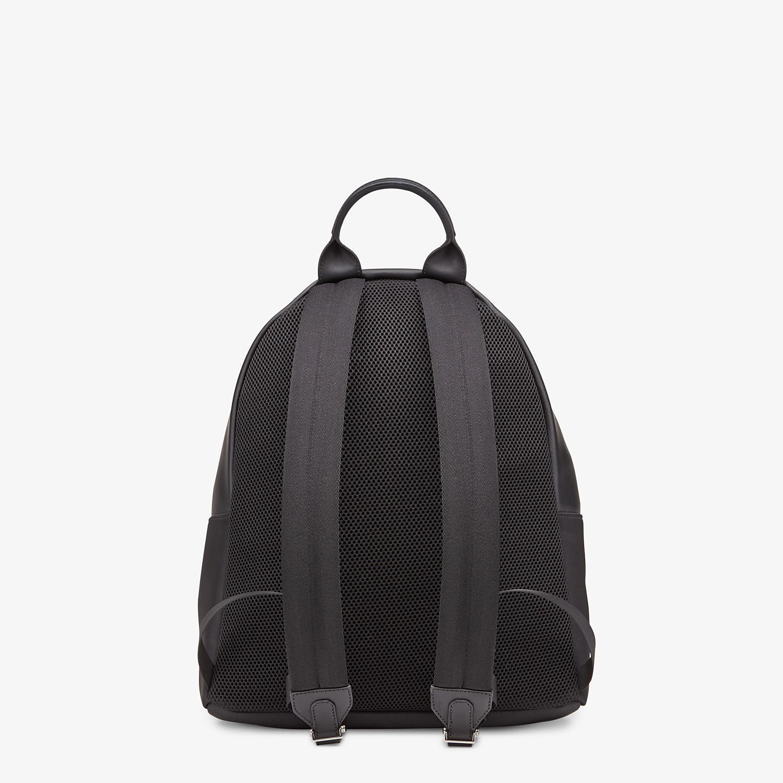 FENDI BACKPACK - Black nylon backpack - view 3 detail