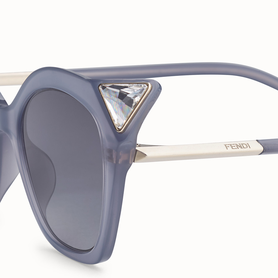 FENDI IRIDIA - Opale Grey sunglasses - view 3 detail