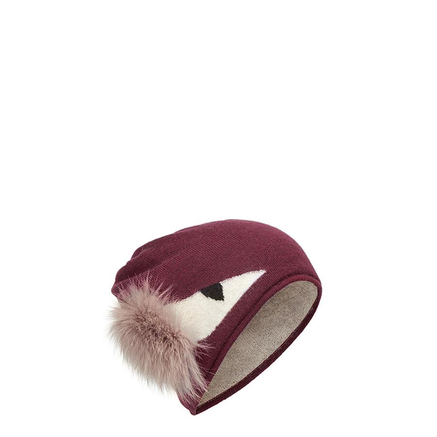FENDI CAPPELLO - Cappello mohair, alpaca e fur - vista 1 dettaglio