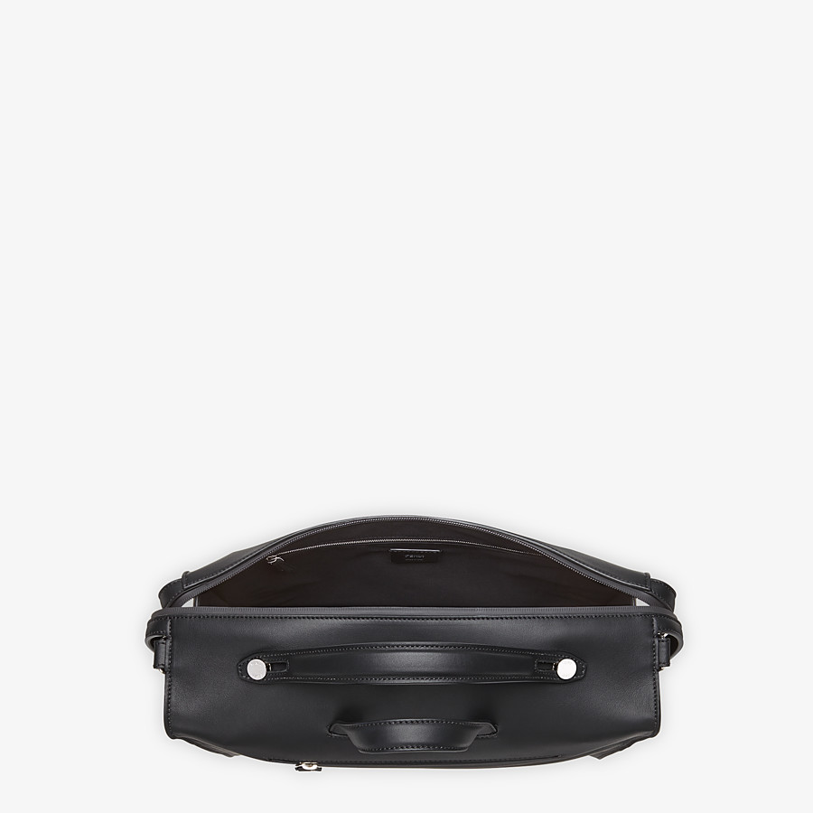 FENDI LUI BAG - Black leather bag - view 4 detail