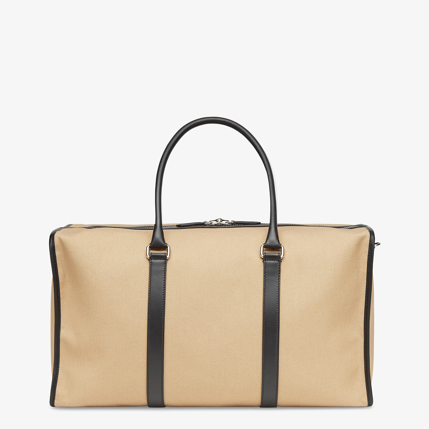 FENDI LARGE DUFFEL BAG - Large beige canvas bag - view 3 detail