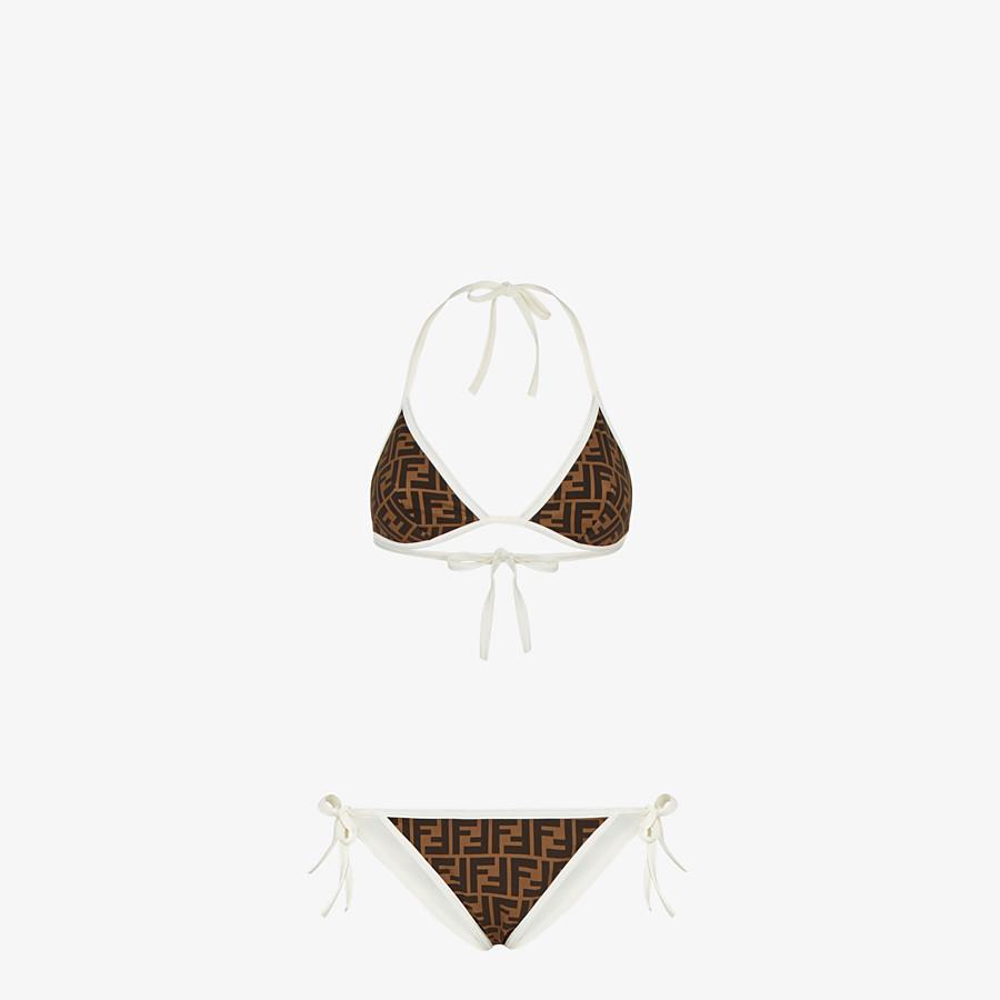 FENDI BIKINI - White Lycra bikini - view 1 detail