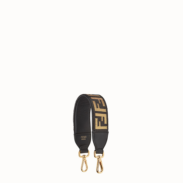 FENDI MINI STRAP YOU - Leather shoulder strap - view 1 small thumbnail