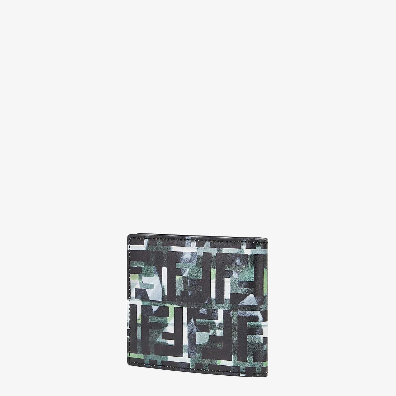 FENDI WALLET - Multicolour leather bi-fold wallet - view 2 detail