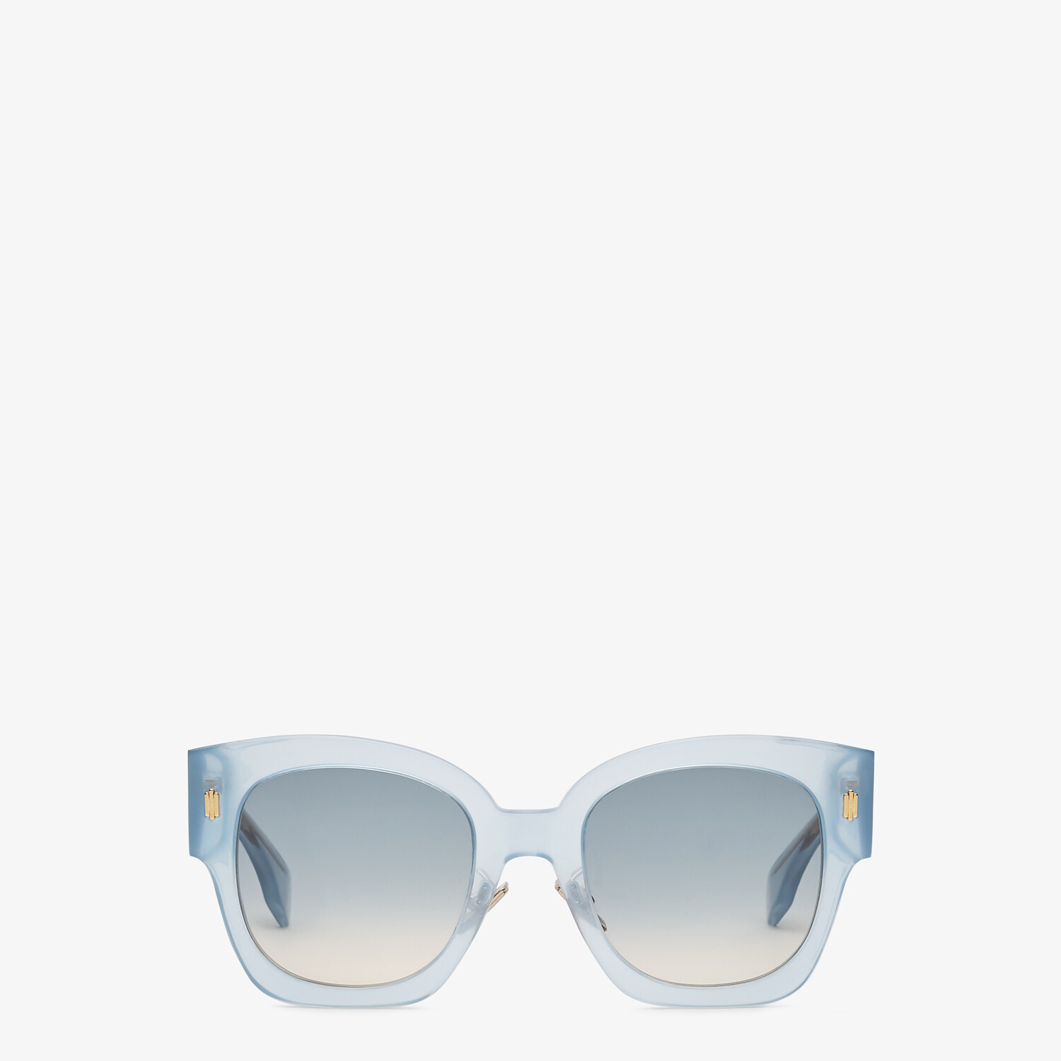 FENDI FENDI ROMA - Light blue acetate sunglasses - view 1 detail