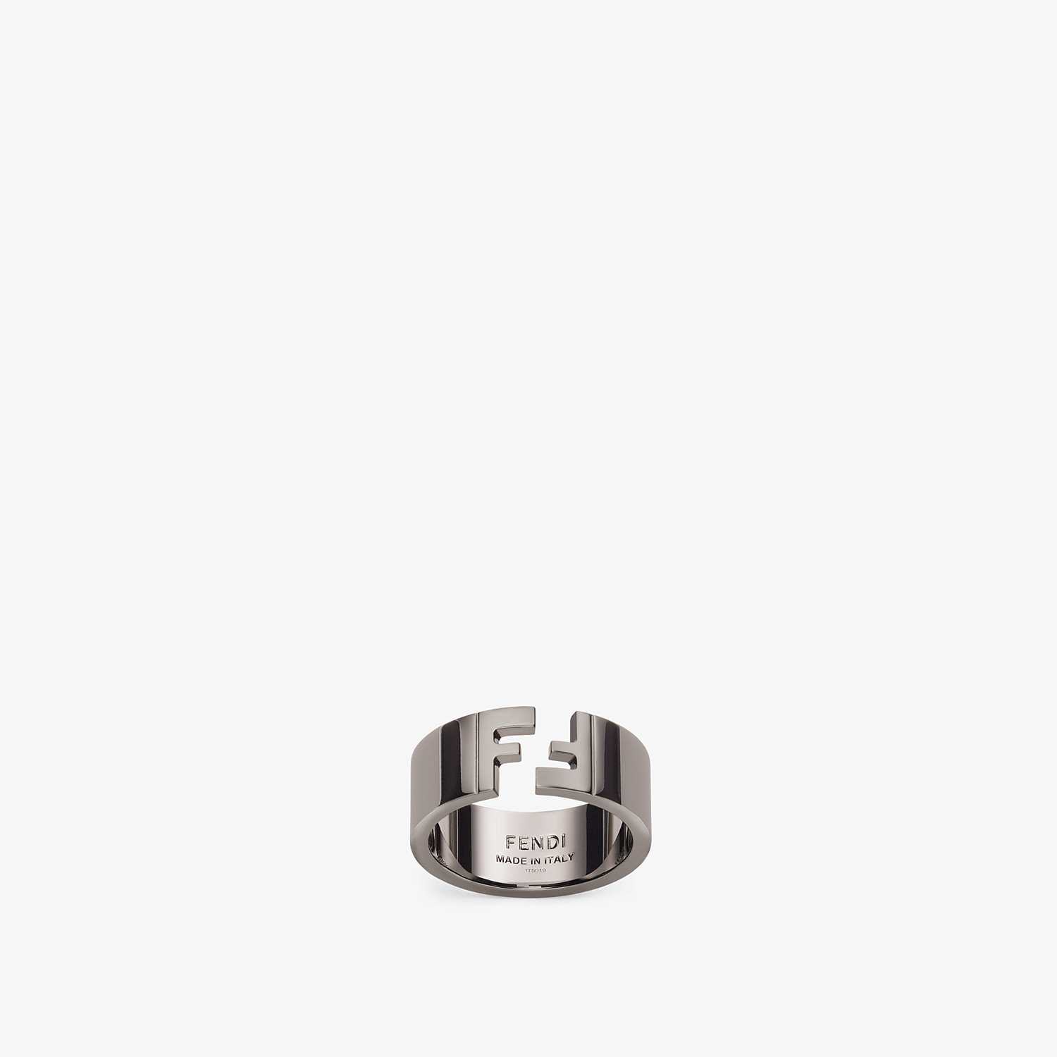 FENDI RING - Ruthenium-colored ring - view 1 detail