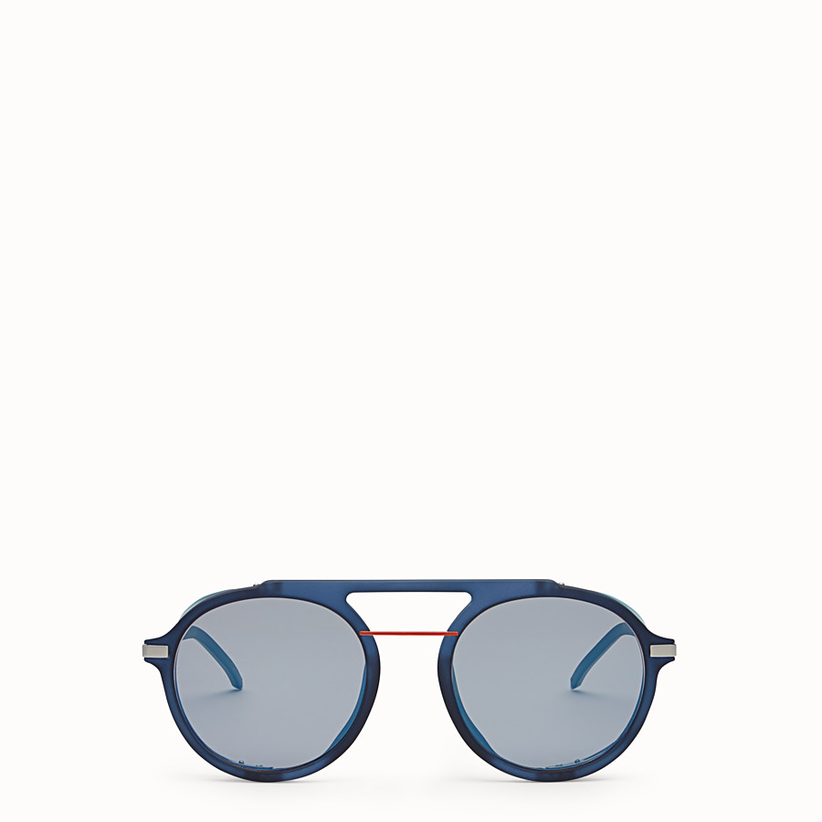 FENDI FENDI FANTASTIC - Blue AW 17/18 Runway sunglasses - view 1 detail