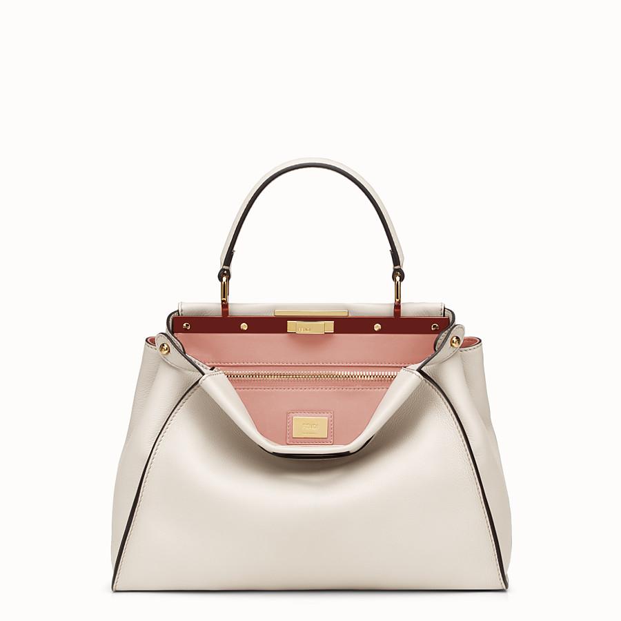 FENDI ピーカブー - grey leather handbag - view 1 detail