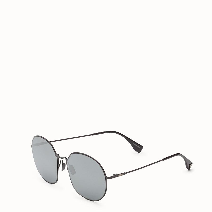 FENDI EYELINE - Black sunglasses - view 2 detail