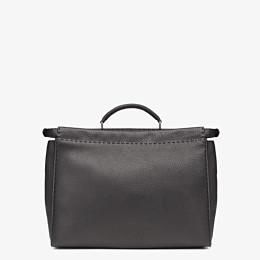 FENDI PEEKABOO ICONIC MEDIUM - Black leather backpack - view 3 thumbnail