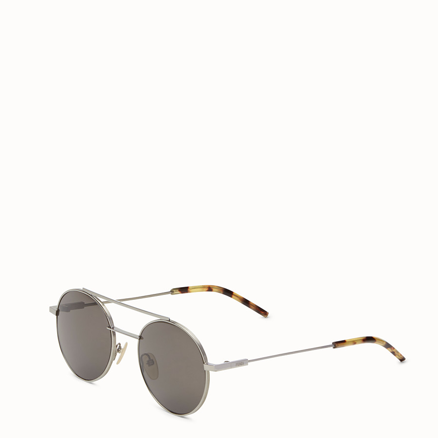 FENDI FENDI AIR - Ruthenium sunglasses - view 2 detail