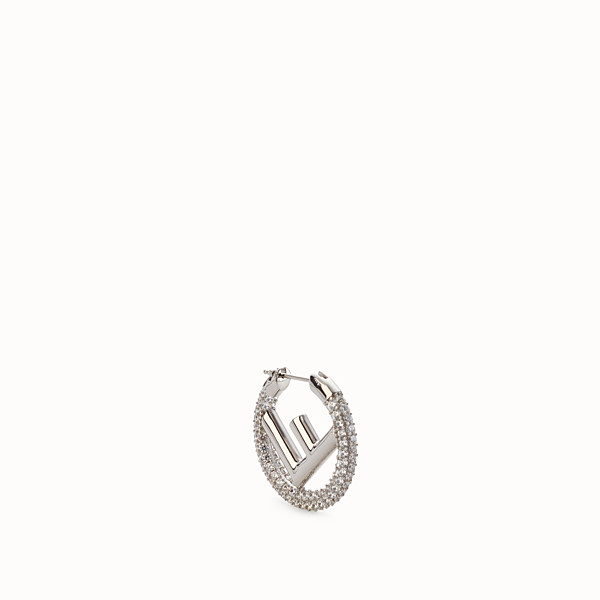 FENDI F IS FENDI EARRING - Silver coloured earring - view 1 small thumbnail