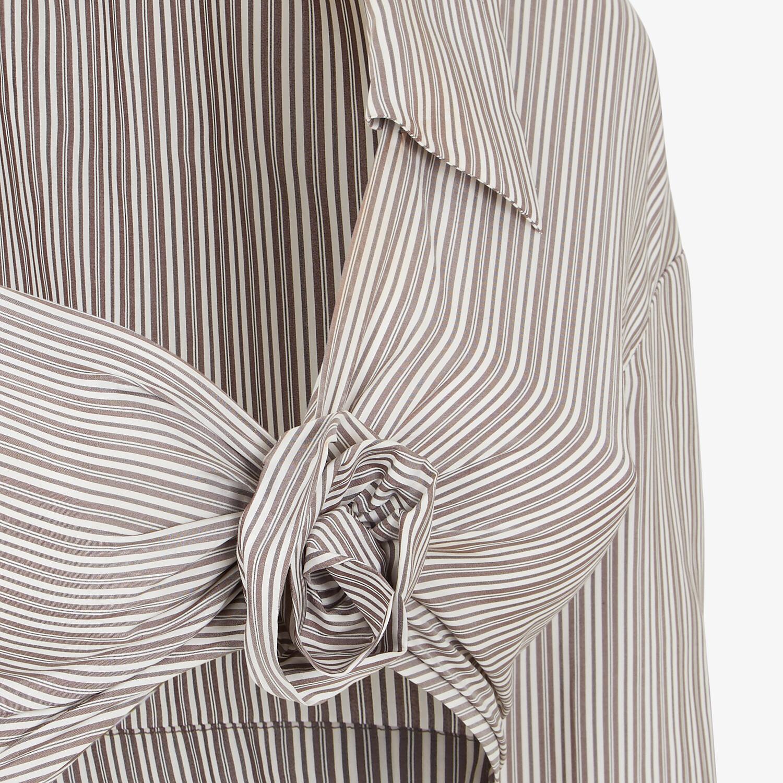 FENDI SHIRT - Printed silk shirt - view 3 detail