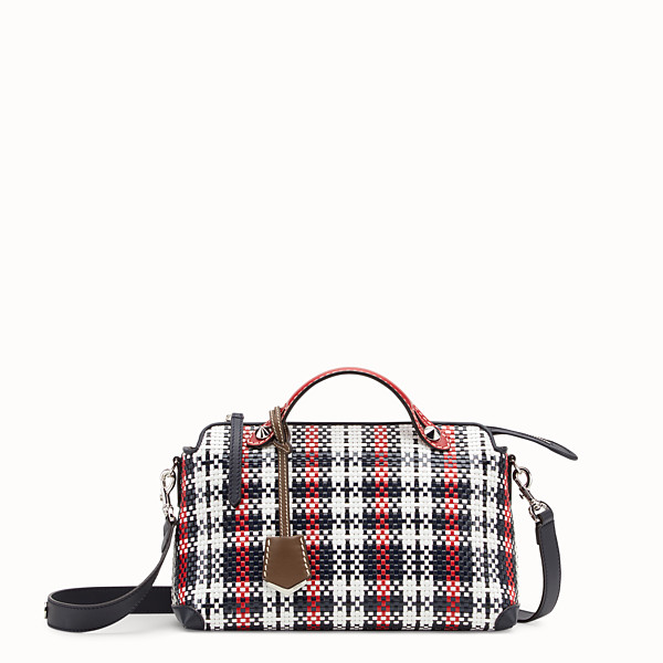 FENDI BY THE WAY REGULAR - Multicolour braided Boston bag - view 1 small thumbnail