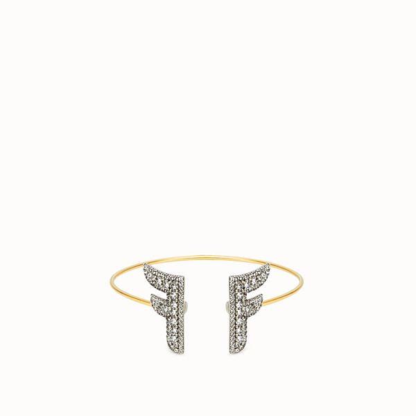 FENDI FFREEDOM BRACELET - Gold and palladium coloured bracelet - view 1 small thumbnail
