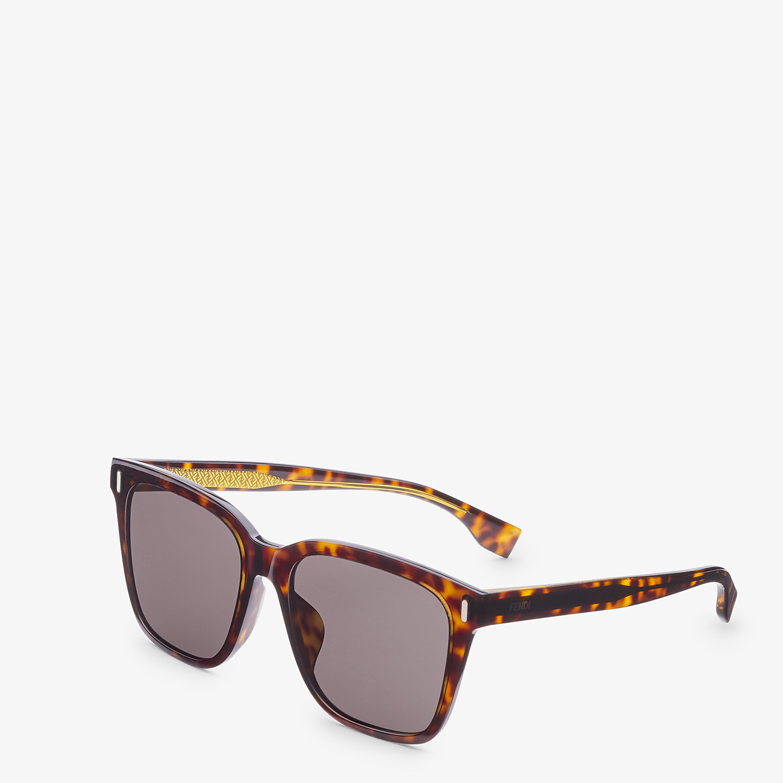FENDI FENDI - Havana sunglasses - view 2 detail
