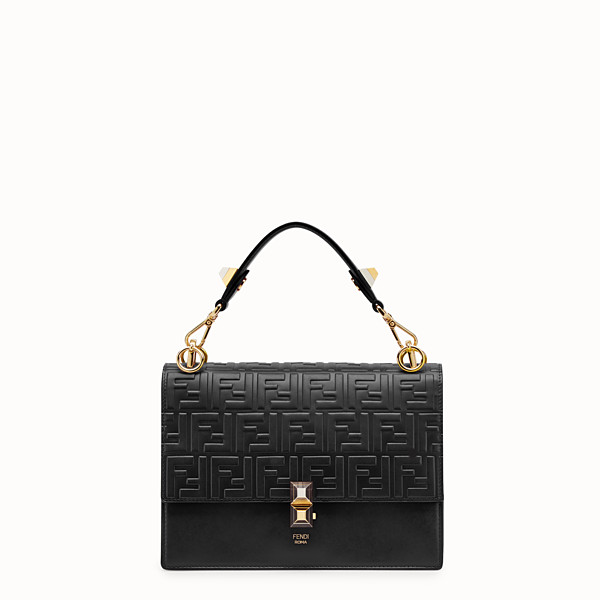 FENDI KAN I - Black leather bag - view 1 small thumbnail