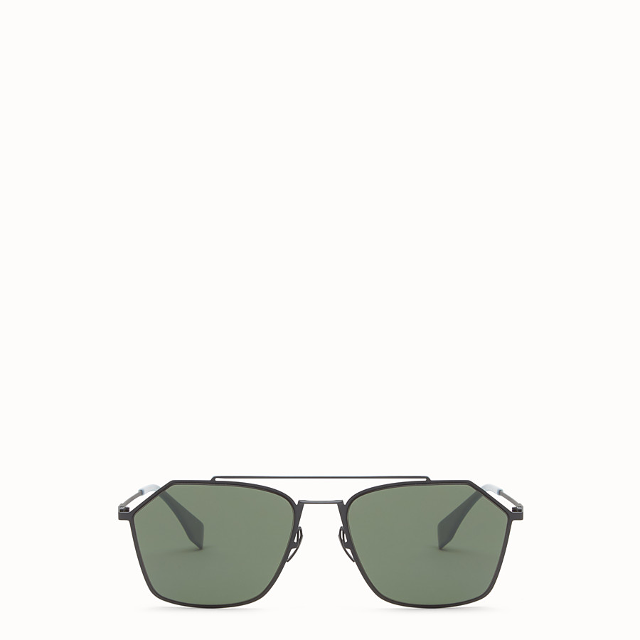FENDI EYELINE - Grey Asian fit sunglasses - view 1 detail