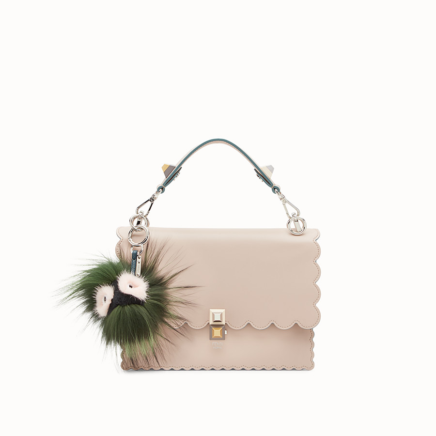 FENDI BAG BUG EYE DROP - Charm de pelo multicolor - view 2 detail
