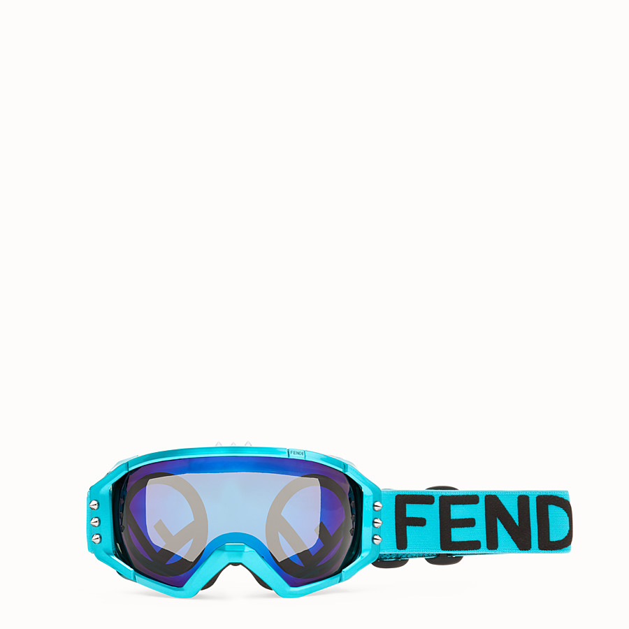 FENDI SKI MASK - Pale blue ski mask - view 1 detail