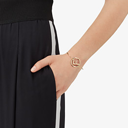 FENDI F IS FENDI BRACELET - Gold colour bracelet - view 2 thumbnail