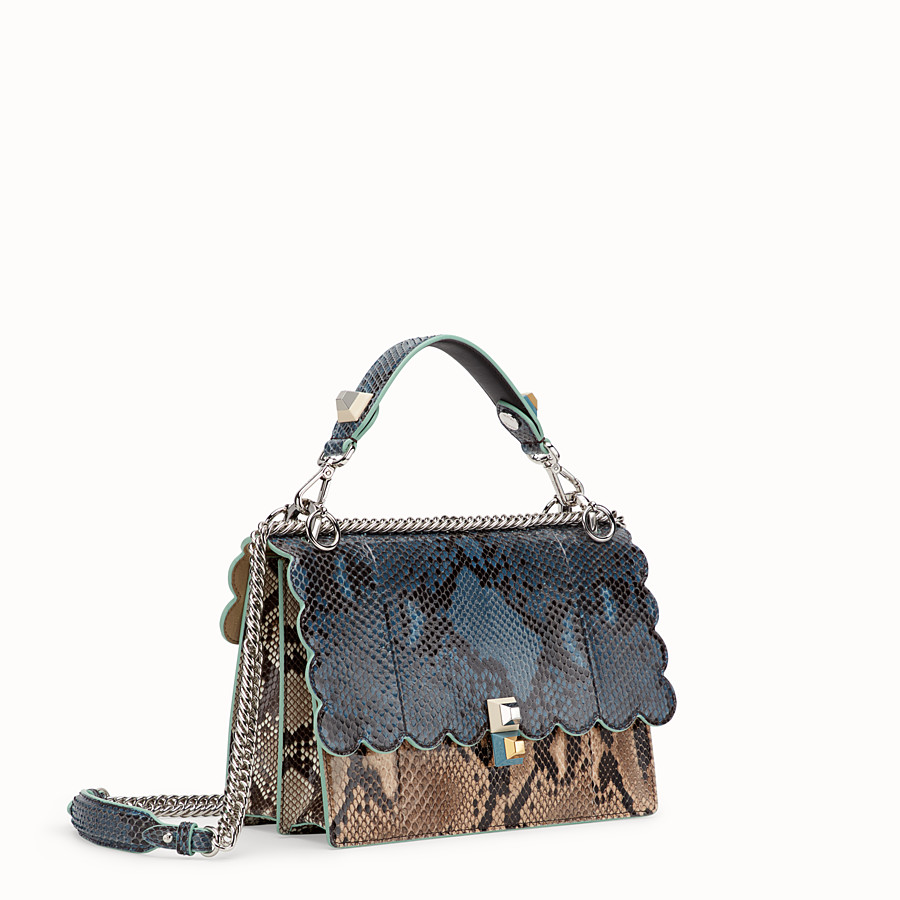 FENDI KAN I - Sac en python multicolore - view 2 detail