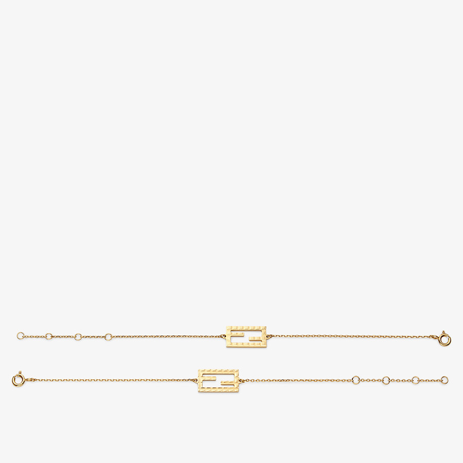FENDI BAGUETTE BRACELET - Gold-color bracelet - view 2 detail