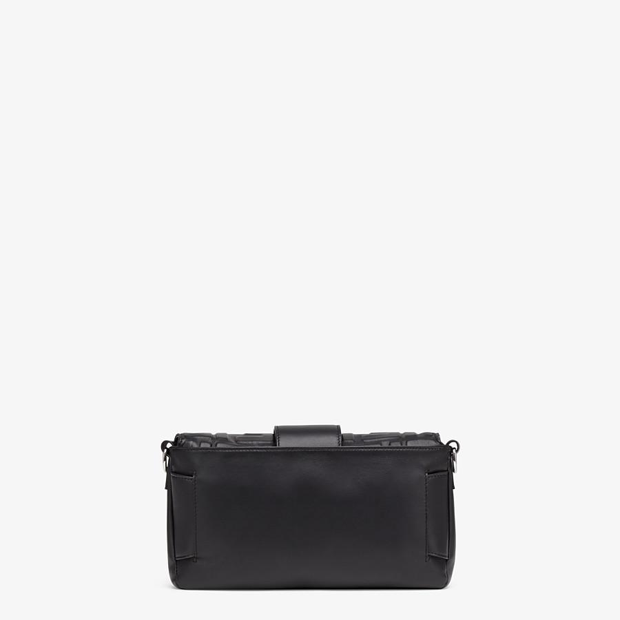 FENDI BAGUETTE - Black nappa leather bag - view 4 detail