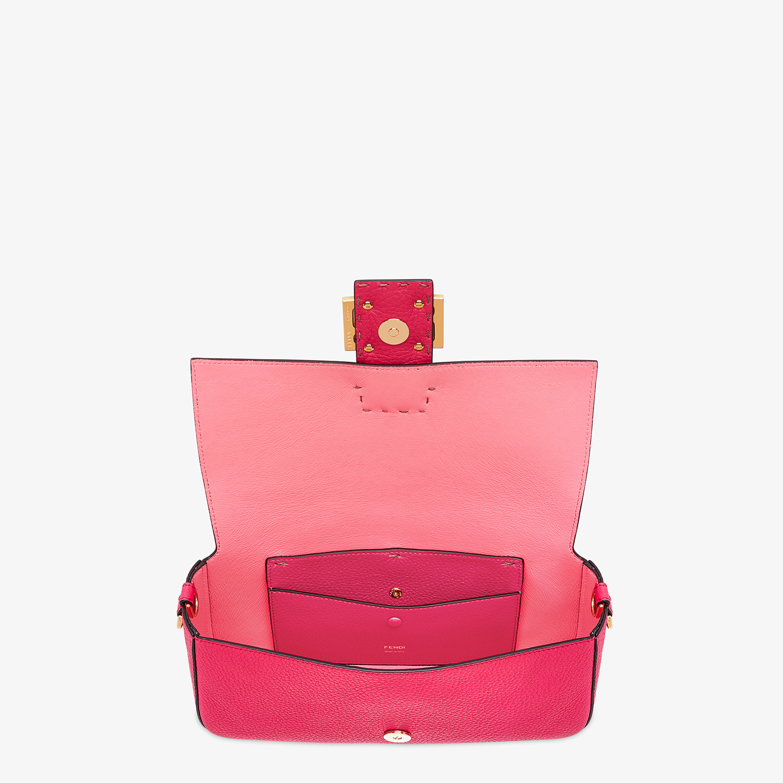 FENDI BAGUETTE - Fendi Roma Amor leather bag - view 5 detail