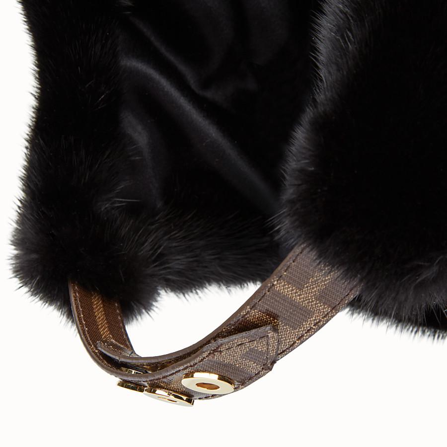 FENDI HAT - Black mink hat - view 2 detail