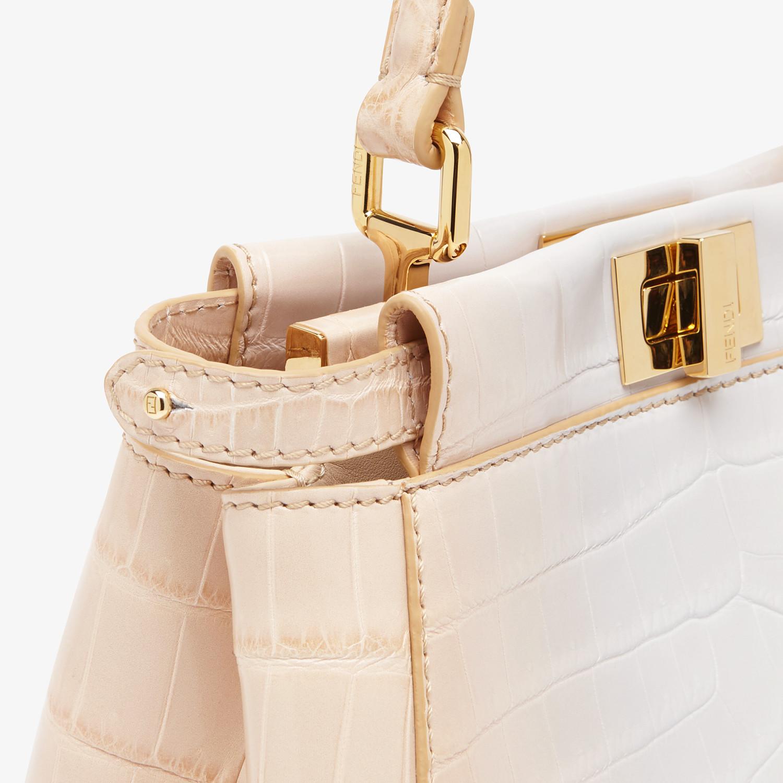 FENDI PEEKABOO MINI - Crocodile leather bag in graduated colours - view 5 detail