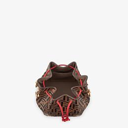 FENDI MON TRESOR - Multicolor leather bag - view 4 thumbnail