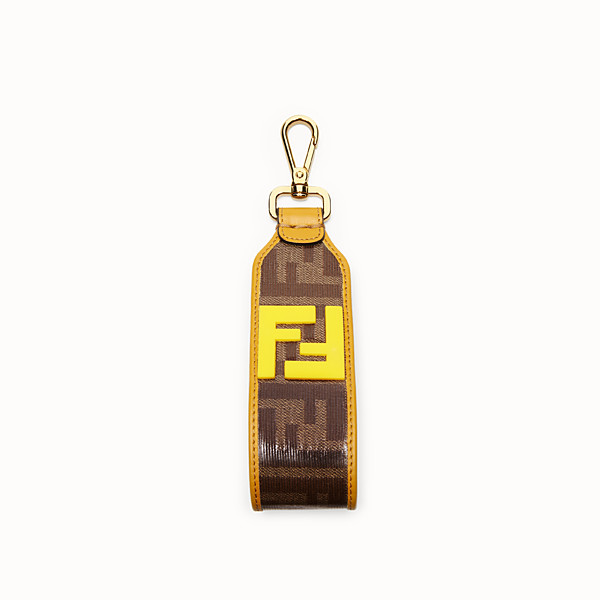 FENDI WRIST STRAP - Multicolor fabric lanyard - view 1 small thumbnail