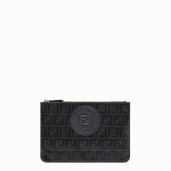 FENDI POUCH - Black fabric pochette - view 1 small thumbnail